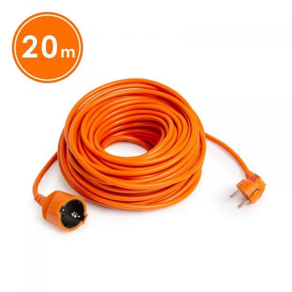 Podaljšek oranžni - 3 x 1 mm² - 20 m