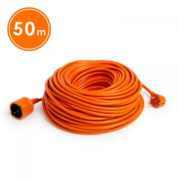Podaljšek oranžni - 3 x 1 mm² - 50 m