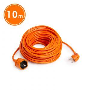 Podaljšek oranžni - 3 x 1,5 mm² - 10 m