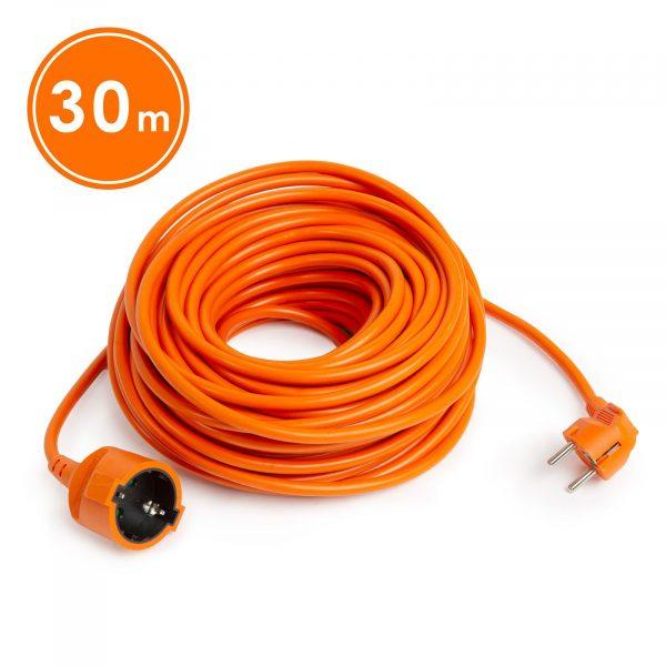 Podaljšek oranžni - 3 x 1,5 mm² - 30 m