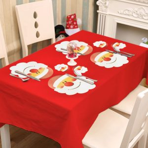 Podstavek za krožnike in skodelice - božiček - 8 kosov / pakiranje,