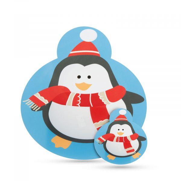 Podstavek za krožnike in skodelice - pingvin - 8 kosov / pakiranje