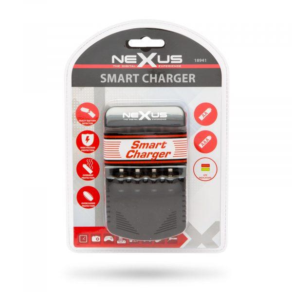 Polnilec baterij z LED indikatorjem NI-MH / CD polnilne baterije