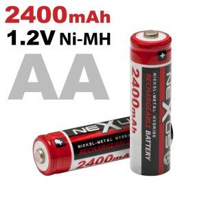 Polnilna baterija - AA • HR06 - Ni-MH • 1,2 V • 2400 mAh - 2 kos / blister