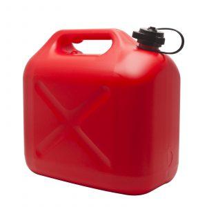 Posoda za gorivo z lijakom - 10 L