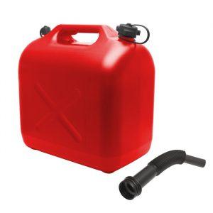 Posoda za gorivo z lijakom - 20 L