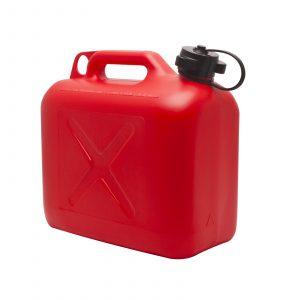 Posoda za gorivo z lijakom - 5 L