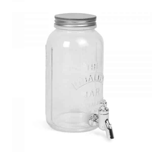 Posoda za pijačo s pipo, steklo - 1 L
