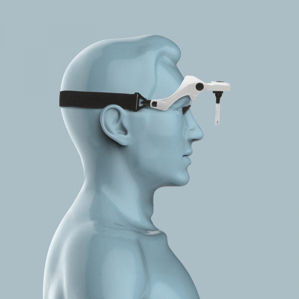 Povečevalno steklo za na glavo z LED osvetlitvijo + komplet leč
