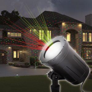 Praznični laserski projektor s stojalom 400 m²