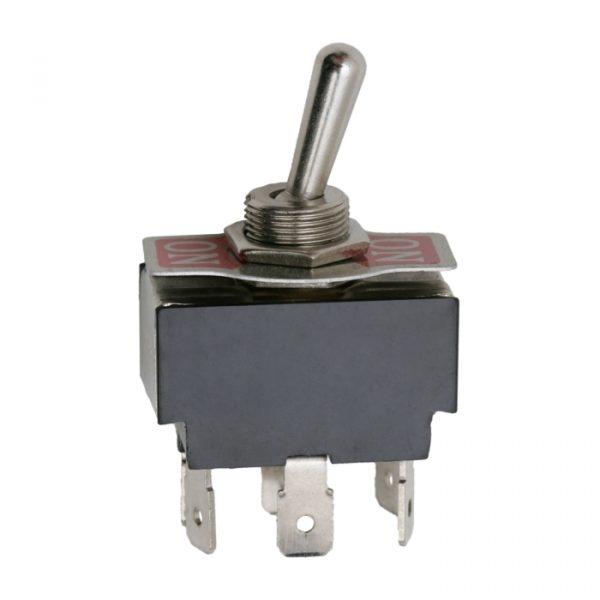 Preklopno stikalo - 2 vezja - 10 A - 250V - ON - ON