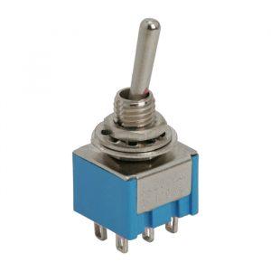 Preklopno stikalo - 2 vezja - 3 A - 250 V - ON - ON