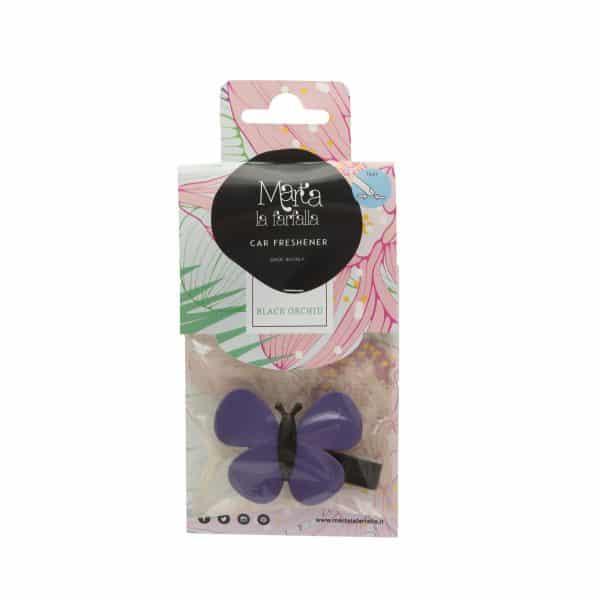 Premium osvežilec za avto metulj - black orchid