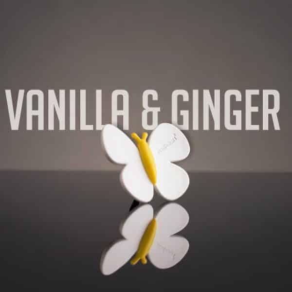 Premium osvežilec za avto metulj - Vanilia & Ginger