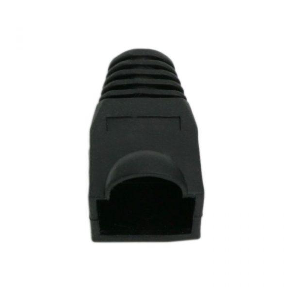 Prevleka konektorja za mrežni kabel CAT5 / CAT5E / CAT6 - črna