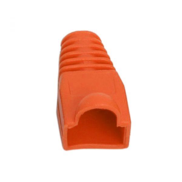 Prevleka konektorja za mrežni kabel CAT5 / CAT5E / CAT6 - oranžna