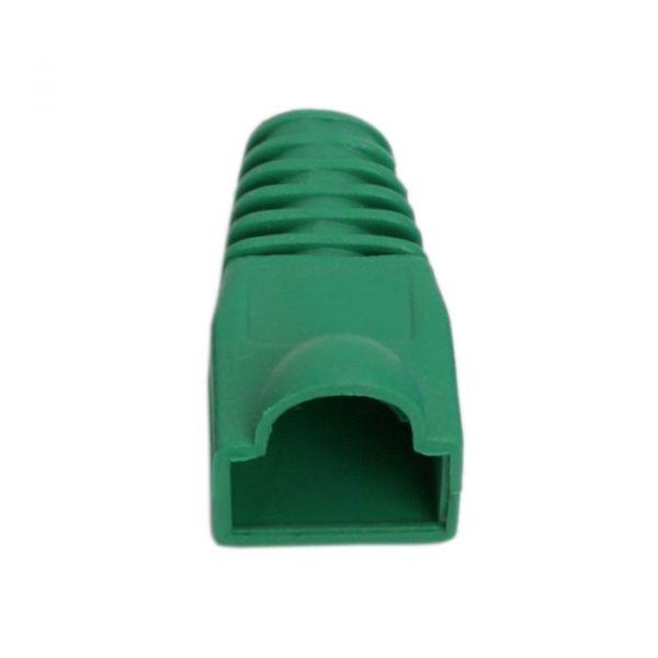 Prevleka konektorja za mrežni kabel CAT5 / CAT5E / CAT6 - zelena