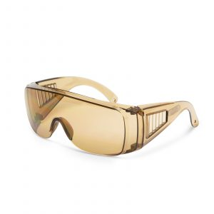 Profesionalna varnostna očala z UV zaščito - amber