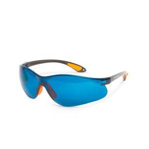 Profesionalna varnostna očala z UV zaščito - modra