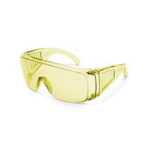 Profesionalna varnostna očala z UV zaščito - rumena