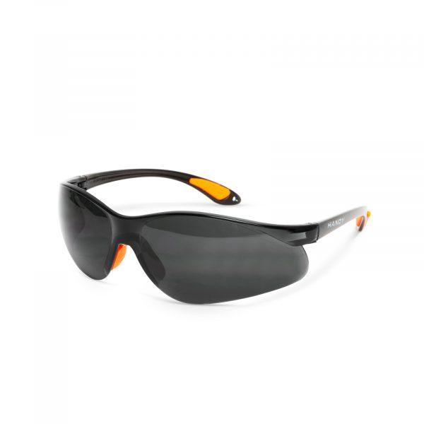 Profesionalna varnostna očala z UV zaščito - siva / zatemnjena