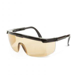 Profesionalna zaščitna očala za ljudi z očali, UV zaščita - amber