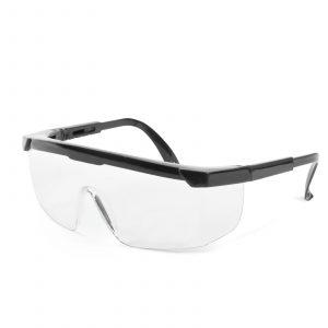 Profesionalna zaščitna očala za ljudi z očali, UV zaščita - prozorna