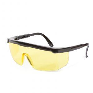Profesionalna zaščitna očala za ljudi z očali, UV zaščita - rumena
