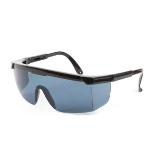 Profesionalna zaščitna očala za ljudi z očali, UV zaščita - siva