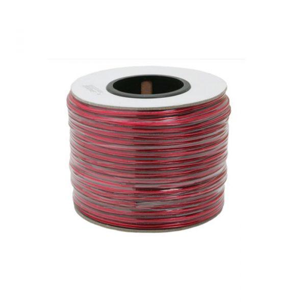 Prozorni zvočniški kabel 2 x 1,00 mm² - 100 m / kolut