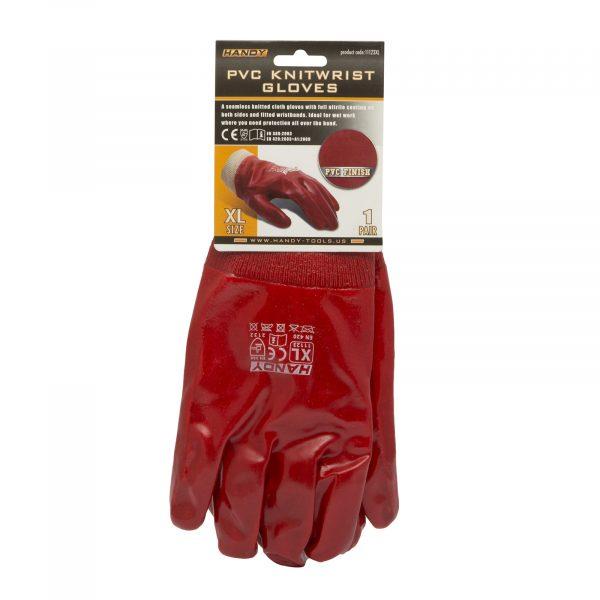 """PVC rokavice iz pletenine v velikosti """"XL"""""""