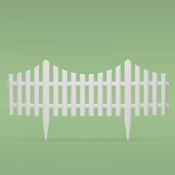 PVC vrtna ograja za ločevanje gredic 60x23cm