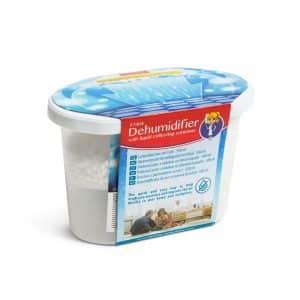 Razvlaževalec zraka s posodo za zbiranje tekočine - brez vonja - 500 ml
