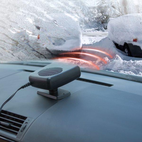 Razvlaževalnik (grelec) avtomobila z ventilatorjem 12V
