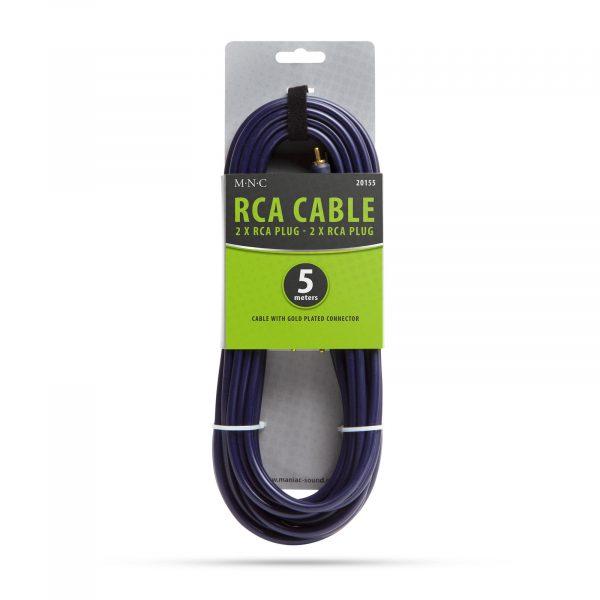 RCA kabel - 2 x vtič RCA - 2 x vtič RCA - 5,0 m