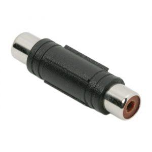 RCA spojka - RCA vtičnica - RCA vtičnica - plastično ohišje