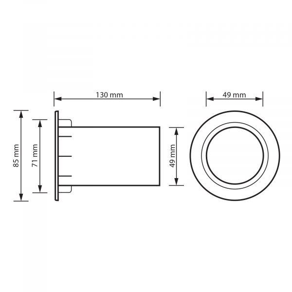 Reflextube ᴓ 49 mm