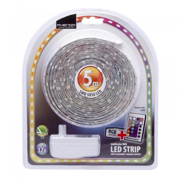 RGB LED set trakov 5 m SMD 5050 IP65