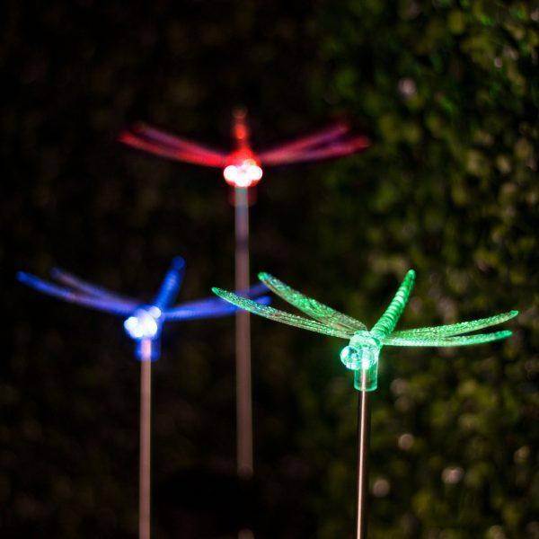 RGB LED solarna svetilka kačji pastir