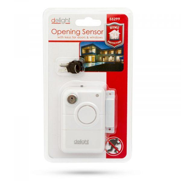 Senzor odpiranja za vrata in okna s ključem