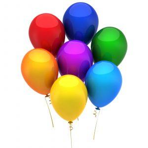 Set balonov, barvni, 15 kosov / paket