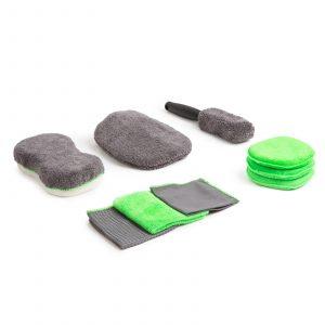 Set gob za avtopralnico iz mikrovlaken