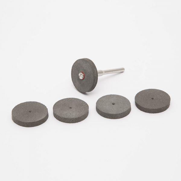 Set nastavkovza poliranje gume - 6 kosov / set
