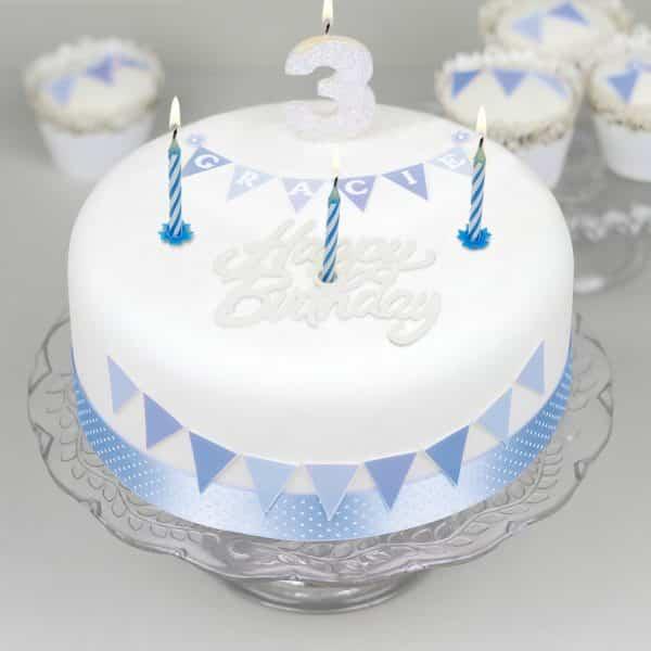 Set svečk za na torto - 37 kosov / set