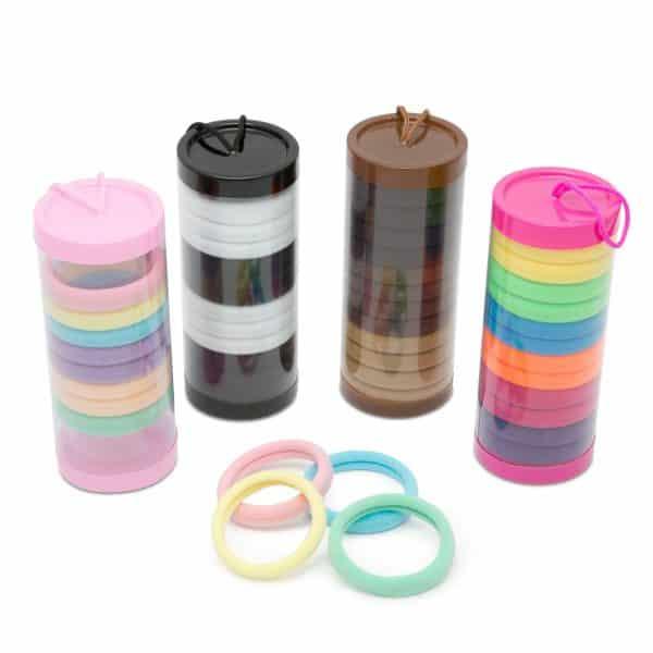 Set trakov za lase v škatli za shranjevanje - 12 kosov