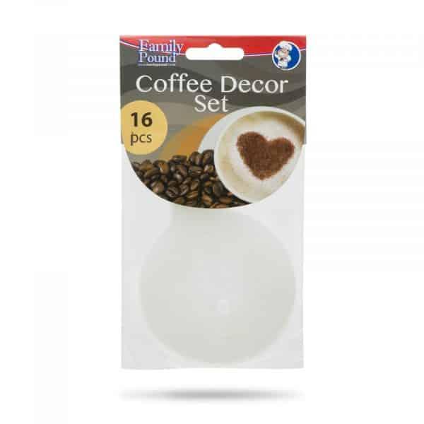 Set za okrasitev kave - 16 kosov / pakiranje