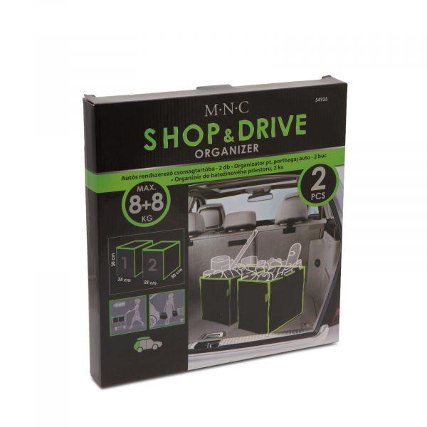 Shop & Drive organizator za avto - 2 predala 30x30x25 cm