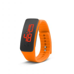 Silikonska ura, oranžna