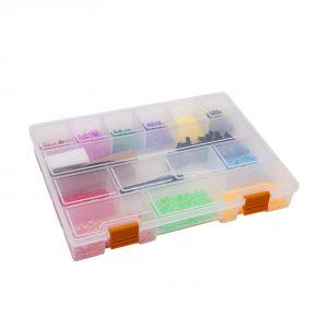 """Škatla za shranjevanje iz plastike - 11 """" - 275 x 200 x 40 mm"""