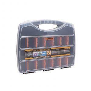 """Škatla za shranjevanje iz plastike - 12,5 """" - 320 x 260 x 50 mm"""